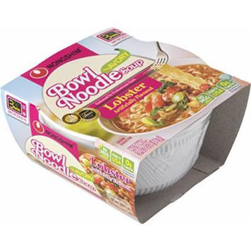 Nongshim Bowl Instant Noodle Soup Assorted Flavors (Lobster)
