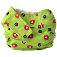 Cuteybaby All in One Modern Cloth Diaper, Flower Power, Infant