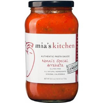 Mia's Kitchen Nonni's Special Arrabiata Pasta Sauce 25.5 Oz. Jar