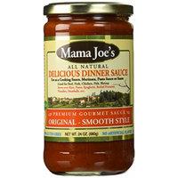 Mama Joe's Delicious Gourmet Sauce - Original Mild. All Natural Gluten Free. NO High Fructose Corn Syrup Low Sodium Marinara Spaghetti Pasta Ravioli Rice Potatoes Meatball etc 2 Pack - 24oz Big Jars