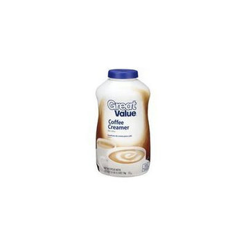 Great Value: Coffee Non-Dairy Creamer, 35.3 Oz(Pack of 4)