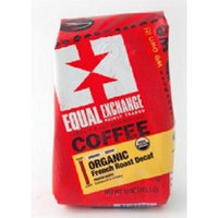 Equal Exchange Organic Coffee, French Decaf, Drip, 10 Ounces, 3 PACK