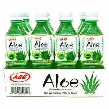 ACE Aloe Vera Juice, Original, 16.9 Oz. (12 Pk)