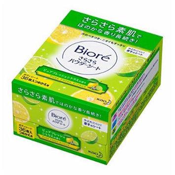 Bioré Murmuring Powder Sheet Pure Fresh Citrus Scent Refill