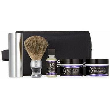eShave Travel Bag Set, Lavender
