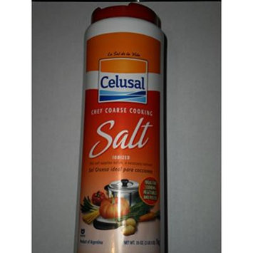 Celusal Chef Coarse Cooking Salt Iodized From Argentine 1kg or 35oz
