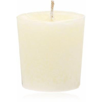 Aroma Naturals Votive Candles with Orange Clove and Cinnamon Essential Oil White Scented
