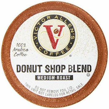 Victor Allen Coffee, Donut Shop, 24 Count (Compatible with 2.0 Keurig Brewers)