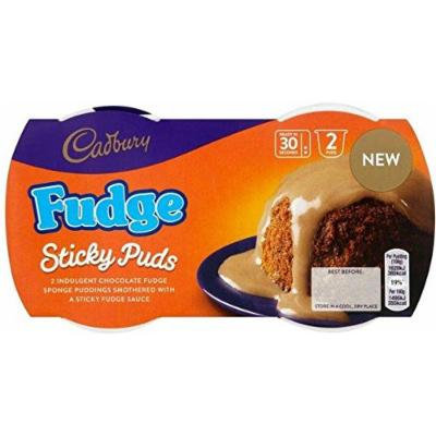 Cadbury Fudge Sticky Puds - (2 x 95g)