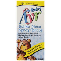 Ayr Baby Saline Nose Spray/Drops, 6 Count