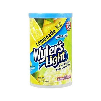 Sugar Free Wyler's Light Limonade Low Calorie Soft Drink Mix 1.57oz (2 Pack)