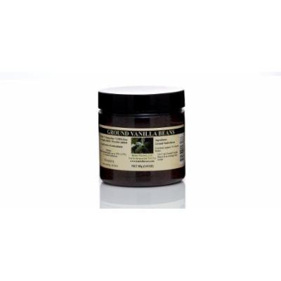 Ground Vanilla Beans- Papua New Guinea -65g, 2.3 OZ Jar
