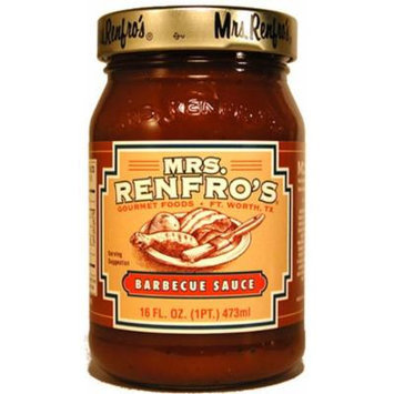 Mrs. Renfro's Sauce, Barbeque, 16 Ounce