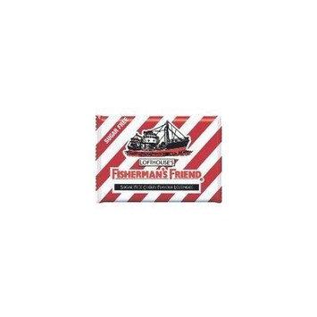 5 pack Fisherman's Friend Menthol Cough Suppressant,Sugar Free Cherry 25*5g.