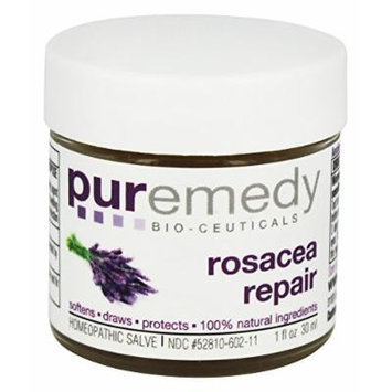 Puremedy Natural/Unscented Rosacea Relief Homeopathic Salve, 1 Ounce