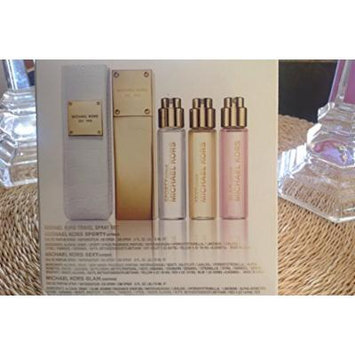 Michael Kors Est. 1981 Travel Spray Set Michael Kors Sport Citrus, Sexy Amber, Glam Jasmine