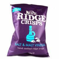 Kettle Brand® Ridge Salt and Malt Vinegar Crisps