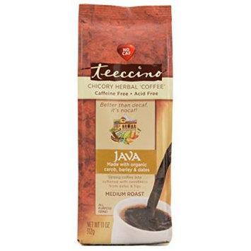 Teeccino Java Chicory Herbal Coffee Alternative, Caffeine Free, Acid Free 11oz (Pack of 3)