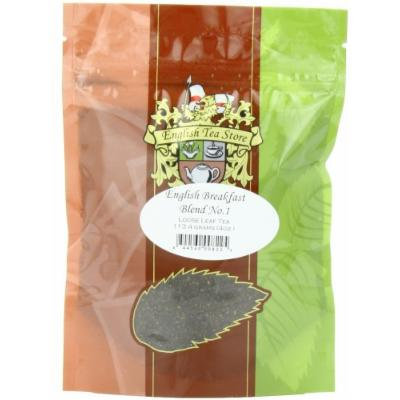 English Tea Store Loose Leaf, English Breakfast Blend Number One Tea Pouches, 4 Ounce