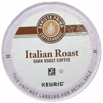 Barista Prima Coffeehouse Dark Roast Extra Bold K-Cup for Keurig Brewers, Italian Roast Coffee (Pack of 48)