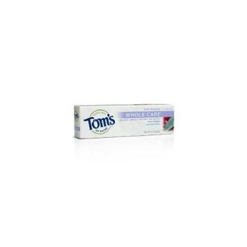 Toms of Maine Whole Care Wintermint Fluoride Toothpaste, 4.7 Ounce -- 6 per case.