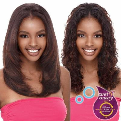 Tru Indian Remy Human Hair Weave Janet Collection Dolche Ripple Deep 5pcs [10