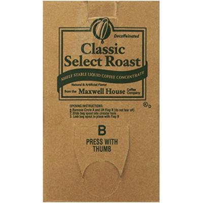 Maxwell House Liquid Concentrate Coffee Decaf Classic Select Roast