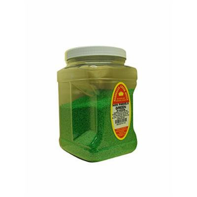 Marshalls Creek Spices Family Size Non Pariels, Green, 40 Ounce