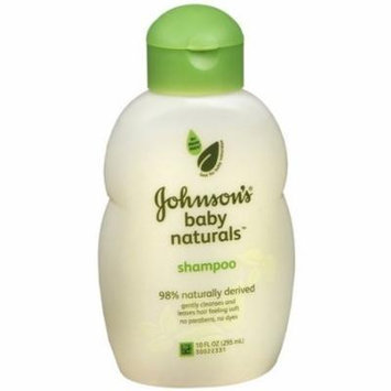 Johnson's Natural Nourishing Baby Shampoo 10 fl oz (295 ml)(PACK OF 2)