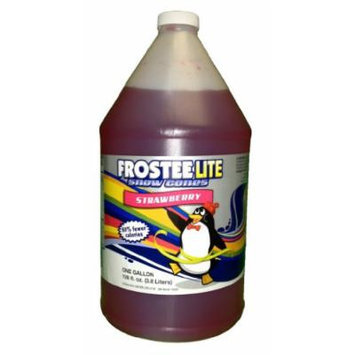 Frostee Snow Cone Syrup, Strawberry, 128 Ounce (pack of 4)