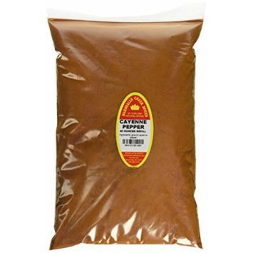 Marshalls Creek Spices Family Size Refill Cayenne Pepper, 40 Ounces