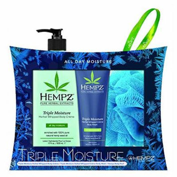 Hempz 'Hydrate Me' Triple Moisture Limited Edition 2014 Holiday Gift Set