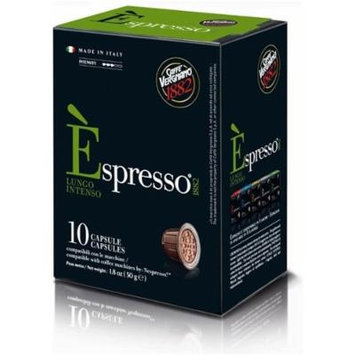 30 Biodegradable Èspresso Capsules by Caffe Vergnano, Nespresso Compatible (Lungo Intenso)
