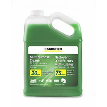 Karcher Multi-Purpose Cleaning Pressure Power Washer Detergent Soap Cleaner, 1-Gallon