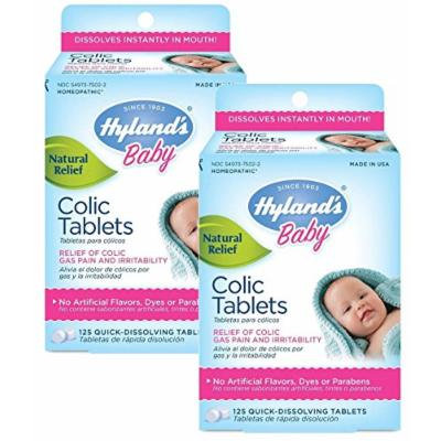 Hyland's Baby Colic Tablets, 125 Count, Pack of 2