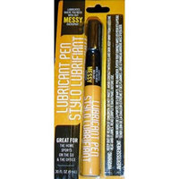 Lubricant Pen without MESSY overspray, for lubrication in home, office, etc, 0.30 Fl Oz