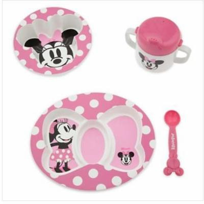 Disney Minnie Mouse Melamine Feeding Set for Baby Girl