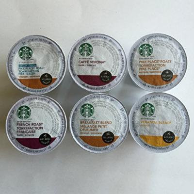 Starbucks Coffee Variety K-Cup Pack, 48 Count