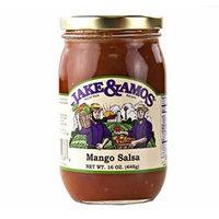 Jake & Amos Mango Salsa, 16 Oz. Jar