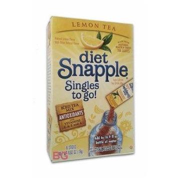Snapple Diet Singles to go! Lemon Tea