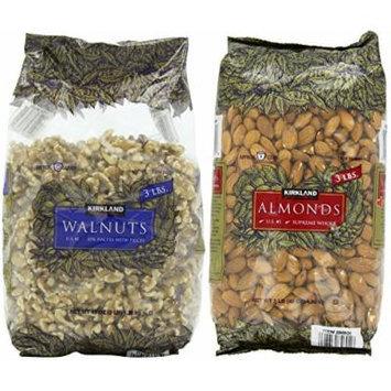 Kirkland Signature's Walnuts & Almonds (2x3 Pounds)