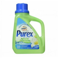2 Pk. Purex Natural Elements Laundry Detergent Liquid, Linen & Lilies, 50 fl oz