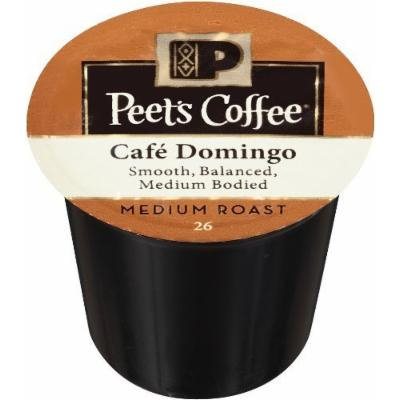 Peet's Coffee & Tea Coffee Cafe Domingo Blend K-Cup Portion Pack for Keurig K-Cup Brewers, 88 Count