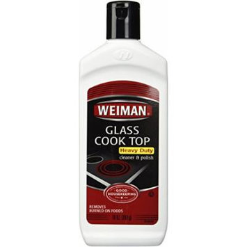 Weiman Glass Cook Top Cleaner, 10-Ounce Bottles (Pack of 3)