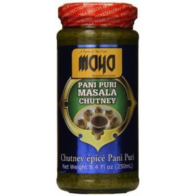 Maya Pani Puri Masala Chutney, 8.4 Ounce (Pack of 12)