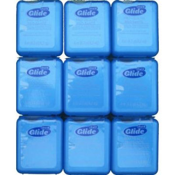 Glide Pro-health Clinical Protection Floss Fresh Mint 9pk of 4.3yd = 4m Each (Total for the 9pk 38.7yd=36m)
