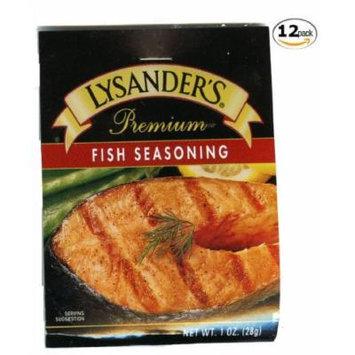 Lysander's Fish Seasoning - 12 Packages
