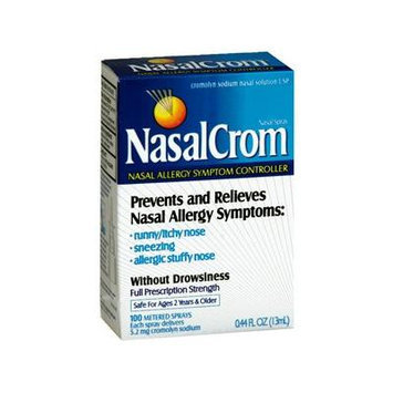 PACK OF 3 EACH NASALCROM CROMOLYN NASAL SPRAY 13ML PT#300450000000