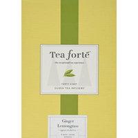 Tea Forte Event Box - 48 Silken Pyramid Infusers - Ginger Lemongrass