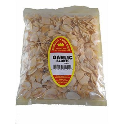 Marshalls Creek Spices Family Size Refill Garlic Sliced Seasoning, 24 Ounce